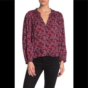 Abound Floral Long Sleeve Blouse